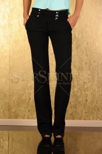 Pantaloni Fofy Stylish Choice Black