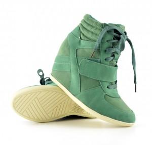 pantofi sport dama verzi