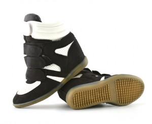 pantofi sport negru alb