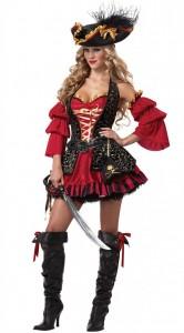 Costum halloween pirat