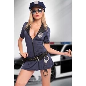 Costum halloween politista