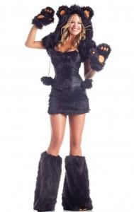 Costum halloween urs