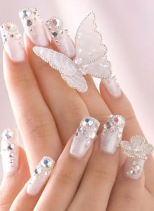Bridal Beauty Nails Art