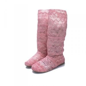 cizme-dama-de-vara-roz