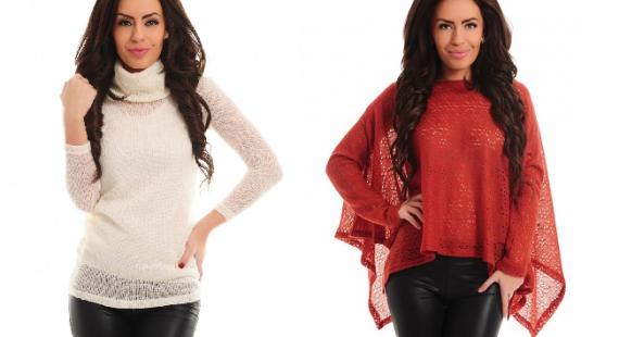 pulovere tricotate la moda 2015