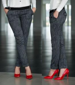 Pantaloni Fofy Iconic Style DarkGrey