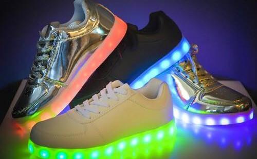 pantofi casual cu led