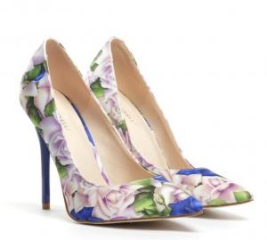 pantofi albastrii eleganti