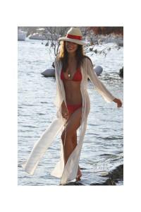 rochie lunga de plaja