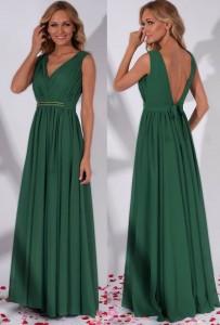 Rochie lunga verde