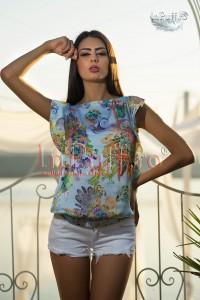 bluza de vara colorata