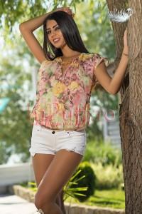 bluza de vara cu imprimeu floral