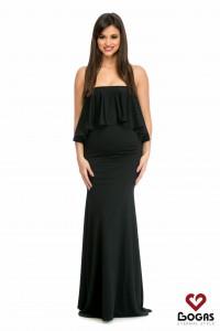 Rochie de gravida lunga neagra