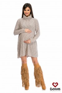 Rochie de gravida gri