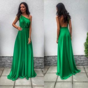 Rochie de seara verde
