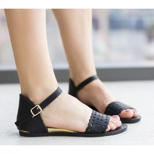 sandale joase negre