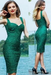 Rochie balul bobocilor verde