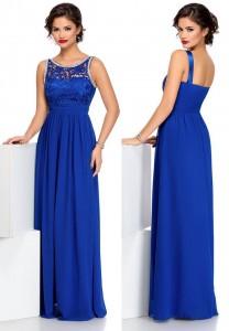 Rochie albastra pentru revelion
