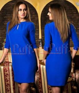 rochie casual albastra