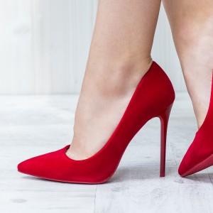 pantofi rosii eleganti