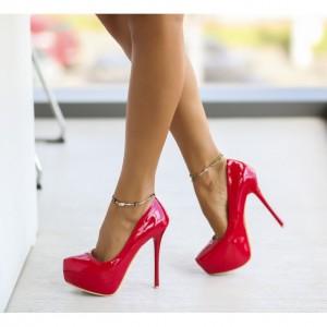 Pantofi dama rosii