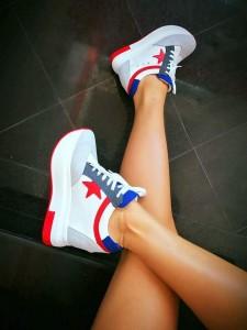 Pantofi sport colorati