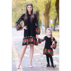 Set rochii mama fiica negre
