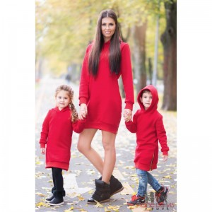 set rochii mama fiica sport rosii