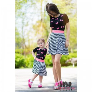rochii mama fiica de vara