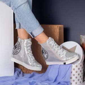 sneakers argintii