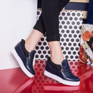 sneakers albastrii
