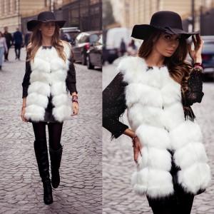 vesta de blana alba