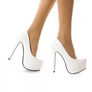 pantofi de mireasa cu toc inalt