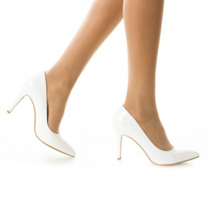 pantofi de mireasa cu varf ascutit
