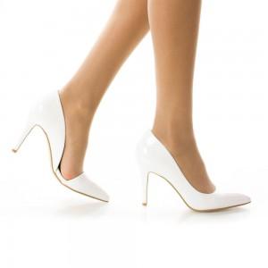 pantofi albi pentru mireasa