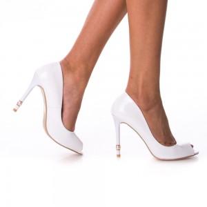 pantofi de mireasa decupati