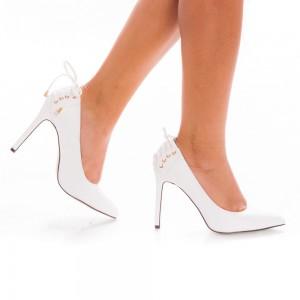 pantofi stiletto cu decoratiune spate
