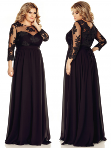 Rochie de soacra lunga neagra