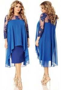 rochie soacra albastra