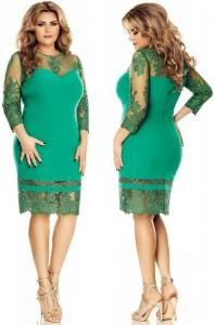 rochie soacra verde