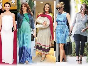 5 tendinte de moda pentru femeile gravide