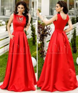 rochie banchet lunga rosie