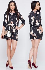 rochie de vara cu imprimeu floral
