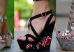 Sandale de vara cu platforme