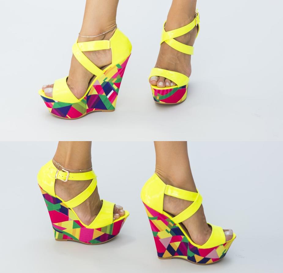 Sandale elegante cu toc inalt - cele mai frumoase modele