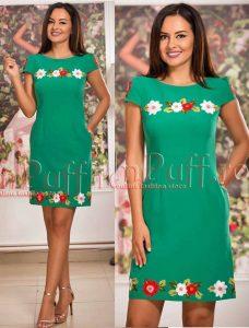 rochie lejera de vara verde