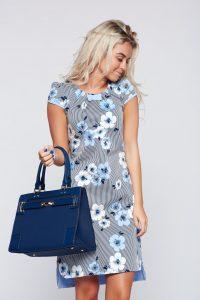 rochie lejera albastra