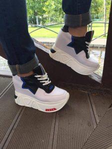 pantofi sport albi star