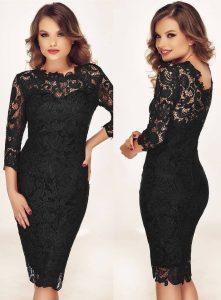 Rochie eleganta neagra pentru Revelion