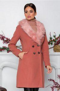 Palton Moze roz
